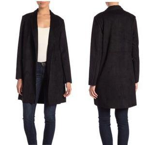 NWT Catherine Malandrino - Faux Suede Jacket